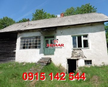 Na predaj rod. dom s letnou kuchyňou- Stará Huta