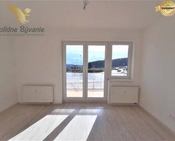 Exkluzívne na predaj krásny priestranný 2 izbový byt s 2 terasami