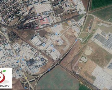 TRNAVA REALITY - 7ha stavebné pozemky pre logistiku, obchod a priemysel pri obchvate v meste Trnava