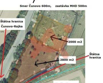 Predám slnečný pozemok v lokalite Čunovo (ID: 102717)