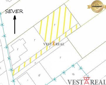 Na predaj stavebný pozemok 879 m2, Bohdanovce nad Trnavou
