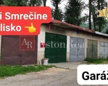 REZERVOVANÉ: PREDAJ: GARÁŽ, 18 m2, pri Smrečine, B. Bystrica - Uhlisko