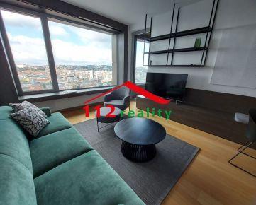 Na prenájom luxusný 2-izbový byt v lokalite Bratislava- Staré mesto,  Čulenova ulica, novostavba SKYPARK