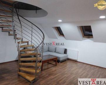 Na prenájom 3 izbový mezonetový byt s balkónom, Trnava, centrum
