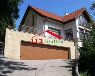 112reality - Na prenájom luxusný  5 izbový rodinný dom na bývanie / vhodný ako sídlo firmy, garáž pre 3 autá
