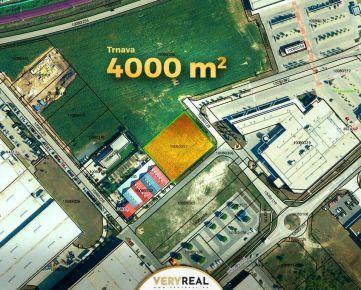 EXTRA lukratívny priemyselný pozemok