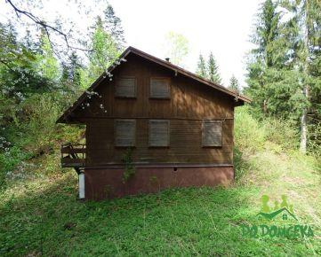 Rekreačná chata, obec Králiky, okres Banská Bystrica