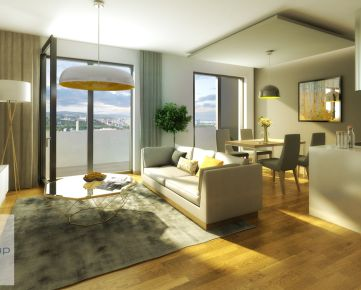 Posledné 3i byty v projekte Matadorka za bezkonkurenčnú cenu vrátane kobky!