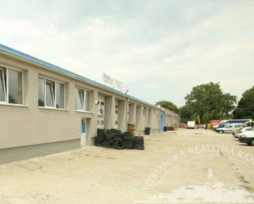 Prenájom - Autoservis - hala 99m2 s mont. jamou, Nitra - Krškany
