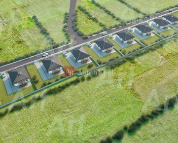 Pozemky na výstavbu 9ks rodinných domov-Bitarová(Žilina) v celku!
