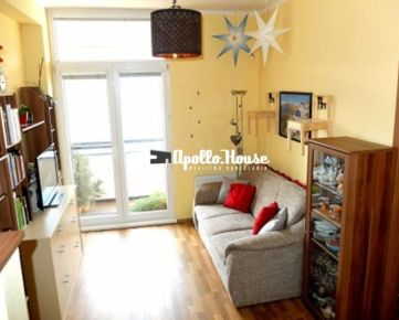 BA-Račianska: 37 m2, dvojizbový byt s loggiou