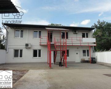 *** Jedinečná príležitosť *** predaj dvoch stavieb - prevádzkovej budovy a skladu s dvorom a parkovacími miestami na vlastnom pozemku Bratislava IV - Lamač!!!