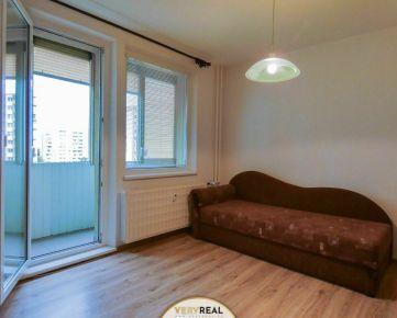 Veľký 2-izbový byt s panoramatickým výhľadom