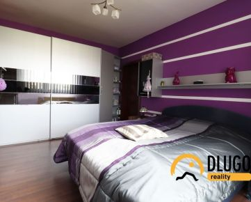 REZERVOVANÝ: 3 izbový byt s balkónom, slnečný, kompletne zariadený, Poprad, Nový Juh