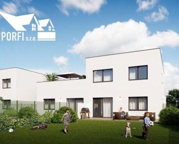 Novostavba 3 - izbového bytu, veľký pozemok,parkovacie státie 2x, Slovenský Grob