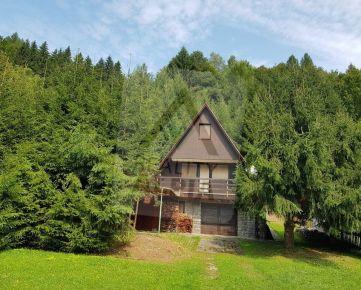 Chata  / s pozemkom 817 m2/ na predaj, Chvojnica