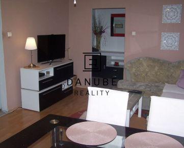 Predaj slnečný 3-izbový byt s loggiou v Bratislave-Podunajských Biskupiciach, Korytnická ul.