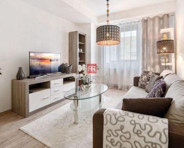 HERRYS - Na predaj 2 izbový apartmán priamo v centre v novostavbe Modrá guľa pri Prezidentskom paláci