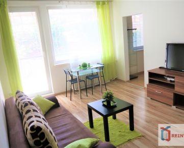 Pekný 1 izbový byt s veľkou lodžiou, komorou a vlastnou predzáhradkou, nezastavaný výhľad - SUPER lokalita