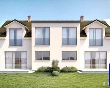 Na predaj novostavba- rodinný dom  v Jarovciach s parkovaním a záhradou