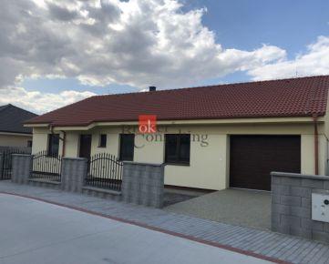4 izbový rodinný dom s garážou /D/ Horná Potôň na predaj, novostavba
