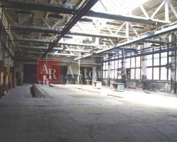 Výrobná-skladová hala 800 m2 Banská Bystrica