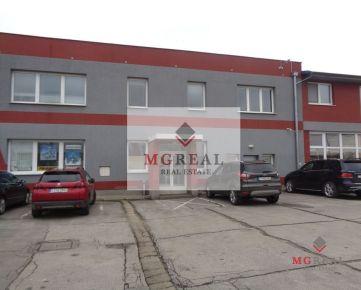 Na prenájom dva kancelárske priestory v priemyselnej časti Trnavy
