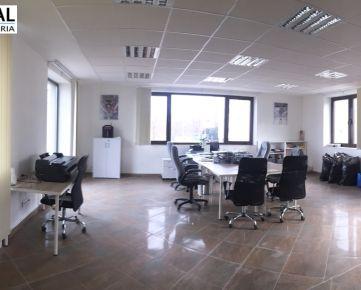 Reprezentatívna kancelária pri centre mesta o výmere 90 m2 na dlhodobý prenájom!