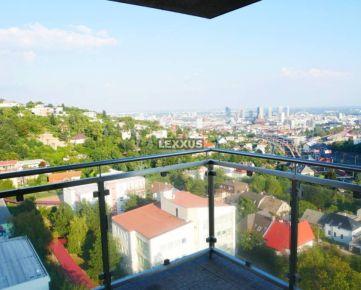 LEXXUS-PREDAJ, veľký moderný byt, terasa, nádherný výhľad, garáž