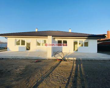*** NOVOSTAVBA *** 4 izb. rodinný dom v dvojdome, ÚP 97m2, pozemok 380 m2, 2x park. miesto, komín – ZÁLESIE