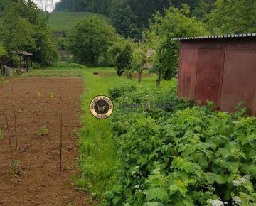 Záhradný pozemok Myslava-MAŠA,1300m2