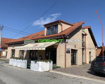 GARANT REAL - predaj 2 -podlažný komerčný objekt, polyfunkčná budova 415 m2 + samostatne stojaca prevádzková budova 65 m2, Prešov, Suchomlynská ul.