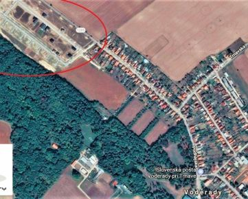 TRNAVA REALITY - široký stavebný pozemok pre RD na novej lukratívnej lokalite obce Voderady - Panské