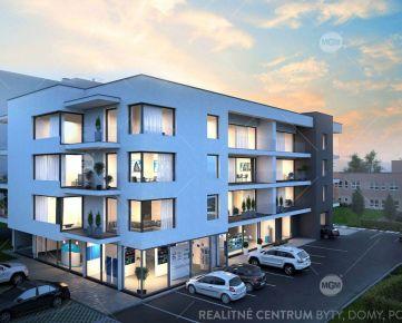 REZERVÁCIA (NP9) Predaj nebytových priestorov o výmere 69,25m2 v projekte RUDNAY RESIDENCE