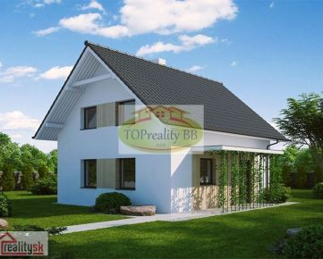 Novostavba poschodový dom  5 + KK 96 m2, na kľúč, Banská Bystrica Cena  89 000€