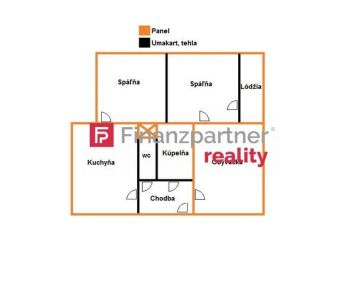 Na predaj -  veľký 72m2 3-izbový byt na Sibírskej ul. v PO (F067-113-ANM)