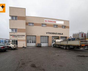 Výrobné priestory Žilina pozemok 1624m2 na predaj - exkluzívne v Rh+