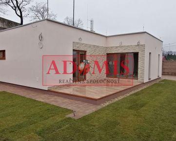 ADOMIS - Predám 3-izb. rodinný dom - BUNGALOV, pozemok 485 m2, Čaňa