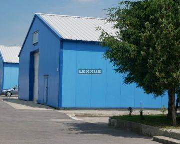 LEXXUS - Prenájom sendvičová hala a kancelárie Žabí Majer BAIII