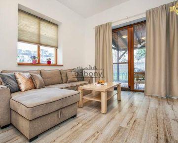 2 izb. byt so záhradou v centre mesta pri OC Vivo (Polus City Center)