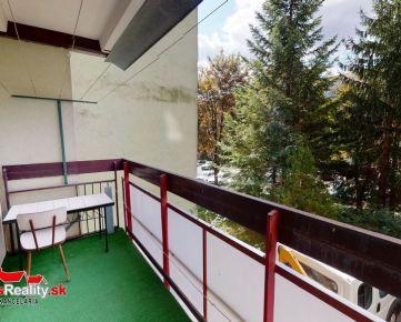 Na predaj 2-izbový byt  s KK v Trenčíne, sídlisko Juh, ulica Novomeského