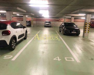 PREDAJ: parking v podzemnej garáži, Uzbecká, P.Biskupice