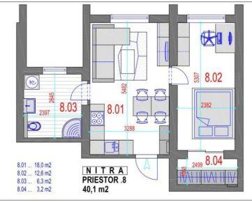 AMEXA REAL» ponúka na predaj 2izb apartmán - 69.527,-€