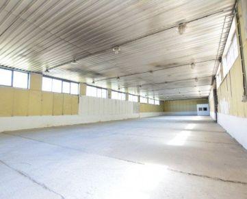 SKLADOVÉ, SAMOSTATNÉ HALY OD 288 m2 DO 1600 m2 PRI GABČÍKOVE