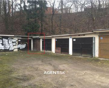 AGENT.SK Na predaj garáž, Predmestská ulica, Žilina - centrum