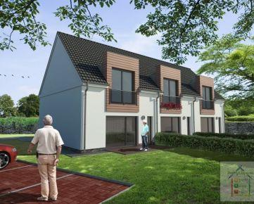 Reality & Bývanie: Bývajte ako v rodinnom dome! Pokojné bývanie v 4i a 3i dvojpodlažných bytoch so záhradou a parkingom v Podunajských Biskupiciach