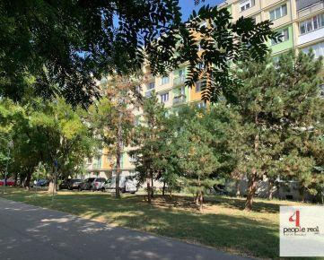 Predaj komplet zrekonštruovaný 2 izbový byt s loggiou a balkónom v Ružinove, tichá, zelená lokalita, s výborným parkovaním pri dome, Exnárova ul.