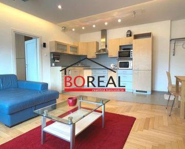 ** RK BOREAL ** Veľký 2izb. byt, 64 m2 s balkónom, Justičná ul. - BA I. na prenájom
