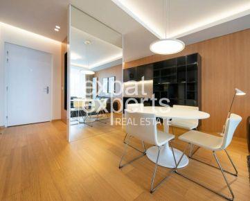 Luxusný 2i byt, 60m2, zariadený, výhľad na Dunaj, Panorama City