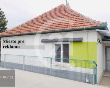 Prenájom polyfunkčný objekt v Nitre, na frekventovanej ceste Nitra smer Nové Zámky s parkoviskom